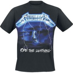 T-shirty męskie z nadrukiem: Metallica Ride The Lightning T-Shirt czarny