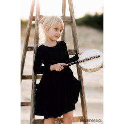 Sukienka czarna, Angelina. Czerwone sukienki dziewczęce marki Pakamera, z dzianiny. Za 125,00 zł.