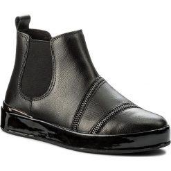 Sztyblety GUESS - Vanina FLVNI4 LEA10 BLACK. Czarne botki damskie skórzane marki Guess. W wyprzedaży za 339,00 zł.