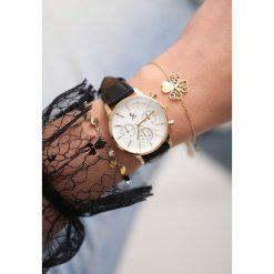 Zegarki damskie: Czarno-Złoty Zegarek I Will Be King
