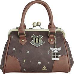 Torebki klasyczne damskie: Harry Potter Celestial Kiss Lock Torebka - Handbag brązowy