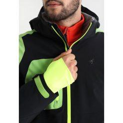 Kurtki narciarskie męskie: Spyder CORDIN Kurtka snowboardowa black/fresh/bryte yellow