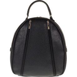 """Plecaki damskie: Skórzany plecak """"Rhianna"""" w kolorze czarnym – 25 x 28 x 15 cm"""