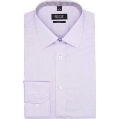 Koszula bexley 2609 długi rękaw slim fit fiolet. Szare koszule męskie slim marki Recman, na lato, l, w kratkę, button down, z krótkim rękawem. Za 139,00 zł.