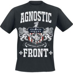 T-shirty męskie: Agnostic Front Something's Gotta Give T-Shirt czarny