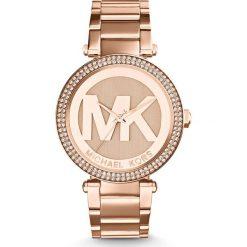Zegarek MICHAEL KORS - Parker MK5865 Rose Gold/Rose Gold. Czerwone zegarki damskie Michael Kors. Za 1290,00 zł.
