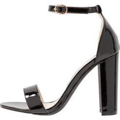 Rzymianki damskie: Glamorous Sandały na obcasie black