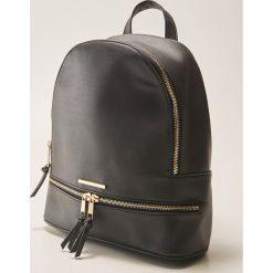 Plecak - Czarny. Czarne plecaki męskie marki House. Za 89,99 zł.