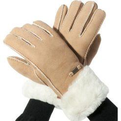 Rękawiczki Damskie EMU AUSTRALIA - Apollo Bay Gloves M/L Chestnut. Szare rękawiczki damskie marki EMU Australia, z gumy. Za 419,00 zł.