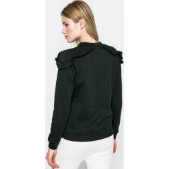 Answear - Bluza Sporty Fusion. Czerwone bluzy damskie marki ANSWEAR, l, z bawełny, bez kaptura. W wyprzedaży za 59,90 zł.