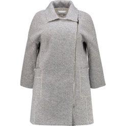 Płaszcze damskie: Lost Ink Plus LONGLINE BIKER Krótki płaszcz grey