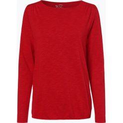 S.Oliver Casual - Damska koszulka z długim rękawem, czerwony. Czerwone t-shirty damskie s.Oliver Casual, s, z dzianiny. Za 99,95 zł.