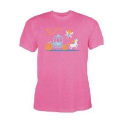 T-shirty chłopięce: Koszulka dziecięca CINDIRELLA KIDS, rozmiar 128, kolor różowy