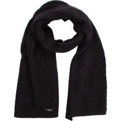 Szal CALVIN KLEIN - Diagonal Rib Scarf K60K604707 001. Czarne szaliki damskie marki Calvin Klein, z bawełny. Za 279,00 zł.