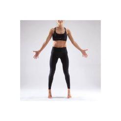 Legginsy do tańca nowoczesnego damskie. Czarne legginsy sportowe damskie DOMYOS, m, z elastanu. Za 39,99 zł.