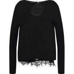 Swetry klasyczne damskie: Karen by Simonsen RUDIMENT  Sweter black