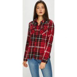 Noisy May - Koszula. Brązowe koszule damskie w kratkę Noisy May, l, z bawełny, casualowe, z klasycznym kołnierzykiem, z długim rękawem. W wyprzedaży za 99,90 zł.