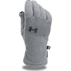 Rękawiczki męskie: Under Armour Rękawiczki męskie Survivor Fleece Glove 2.0 szare r. L (1300833)