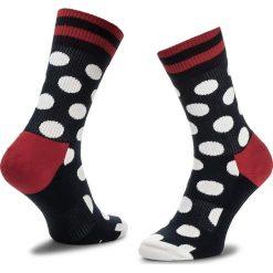 Skarpety Wysokie Unisex HAPPY SOCKS - ATBDO27-6003 Granatowy. Czerwone skarpetki męskie marki Happy Socks, z bawełny. Za 47,90 zł.