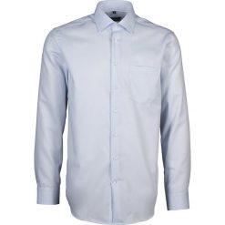 Koszule męskie na spinki: Koszula – Modern fit – w kolorze błękitnym