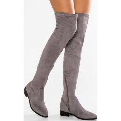 ALDO ELINNA Muszkieterki grey miscellaneous. Szare buty zimowe damskie ALDO, z materiału. W wyprzedaży za 314,25 zł.