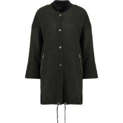 Płaszcze damskie pastelowe: Topshop Płaszcz wełniany /Płaszcz klasyczny khaki