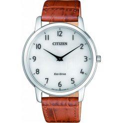 ZEGAREK CITIZEN STILETTO AR1130-13A. Białe, analogowe zegarki męskie CITIZEN, sztuczne. Za 980,00 zł.
