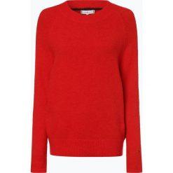 Tommy Hilfiger - Sweter damski z dodatkiem alpaki, czerwony. Czerwone swetry klasyczne damskie TOMMY HILFIGER, s. Za 399,95 zł.