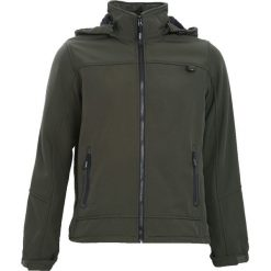 Ciemnozielona Kurtka Impossible. Czarne kurtki męskie marki Born2be, l, z aplikacjami, z dresówki. Za 119,99 zł.