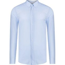 Koszule męskie na spinki: Koszula CONTE OF FLORENCE CELESTE PASTELL Niebieski|Print