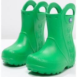 Crocs HANDLE IT RAIN BOOT KIDS Kalosze grass green. Różowe buty zimowe damskie marki Crocs, z materiału. Za 139,00 zł.