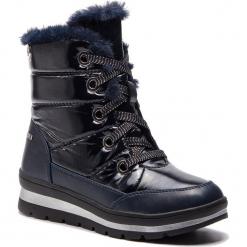 Śniegowce CAPRICE - 9-26221-21 Ocean Comb 880. Niebieskie buty zimowe damskie Caprice, z materiału. W wyprzedaży za 209,00 zł.