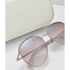 Marc Jacobs Okulary przeciwsłoneczne goldcoloured. Żółte okulary przeciwsłoneczne damskie Marc Jacobs. W wyprzedaży za 671,20 zł.
