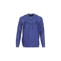 Bluzki Pepe jeans  ALICIA. Niebieskie bluzki damskie Pepe Jeans, l, z jeansu. Za 349,00 zł.