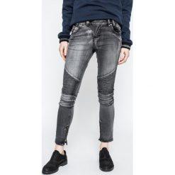 Sublevel - Jeansy. Szare jeansy damskie rurki marki Sublevel, z bawełny. W wyprzedaży za 79,90 zł.