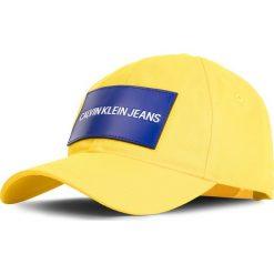 Czapka z daszkiem CALVIN KLEIN JEANS - Cap M K40K400863 709. Żółte czapki z daszkiem męskie marki Calvin Klein Jeans, z bawełny. Za 159,00 zł.