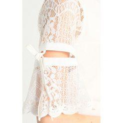 Swetry klasyczne damskie: Navy London JENNA Sweter white