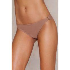 NA-KD Swimwear Dół bikini z metalowym kółeczkiem - Pink. Różowe bikini NA-KD Swimwear. W wyprzedaży za 24,38 zł.