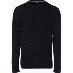 Joop - Sweter męski – Risto, niebieski. Niebieskie swetry klasyczne męskie JOOP!, m, prążkowane. Za 549,95 zł.