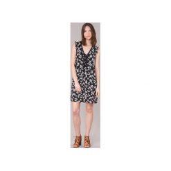 Sukienki krótkie Moony Mood  GOMINOS. Czarne sukienki hiszpanki Moony Mood, s, z krótkim rękawem, mini. Za 127,20 zł.