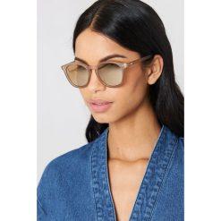 Le Specs Okulary przeciwsłoneczne Bandwagon - Grey. Szare okulary przeciwsłoneczne damskie lustrzane marki Le Specs. W wyprzedaży za 170,07 zł.