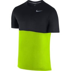 Nike Koszulka Racer Short-Sleeve żółta r. M (644396 702). Żółte koszulki sportowe męskie marki Nike, m. Za 67,99 zł.