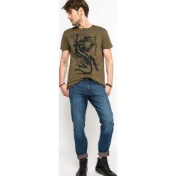 Medicine - Jeansy Let's Rebel. Niebieskie jeansy męskie regular marki MEDICINE. W wyprzedaży za 79,90 zł.