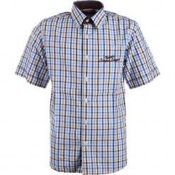 Koszula - Slim fit - w kolorze niebiesko-białym. Białe koszule chłopięce Paglie, New G.O.L & more, z aplikacjami, z klasycznym kołnierzykiem. W wyprzedaży za 62,95 zł.