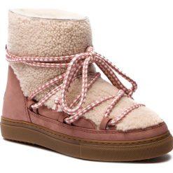 Buty INUIKII - Sneaker Curly 70202-16 Cream. Czerwone buty zimowe damskie marki Reserved, na niskim obcasie. Za 1349,00 zł.