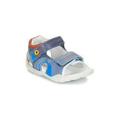 Sandały Dziecko  Babybotte  TANDEM. Niebieskie sandały chłopięce marki Babybotte. Za 349,00 zł.