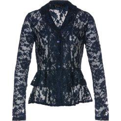 Bluzki damskie: Bluzka koronkowa bonprix ciemnoniebieski