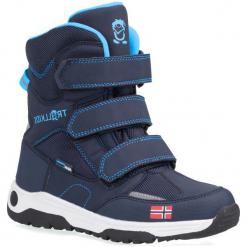 Trollkids Buty Zimowe Dzięcięce Lofoten Navy/Medium Blue 38. Niebieskie buciki niemowlęce Trollkids, na zimę. Za 205,00 zł.