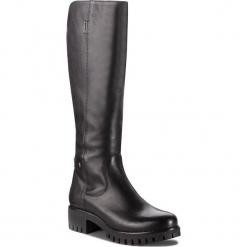 Kozaki NESSI - 17274 Czarny 1. Czarne buty zimowe damskie marki Nessi, z materiału, na obcasie. W wyprzedaży za 339,00 zł.