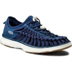 Sandały KEEN - Uneek O2 1018715 Estate Blue/ Harvest Gold. Niebieskie sandały męskie Keen, z materiału. W wyprzedaży za 259,00 zł.